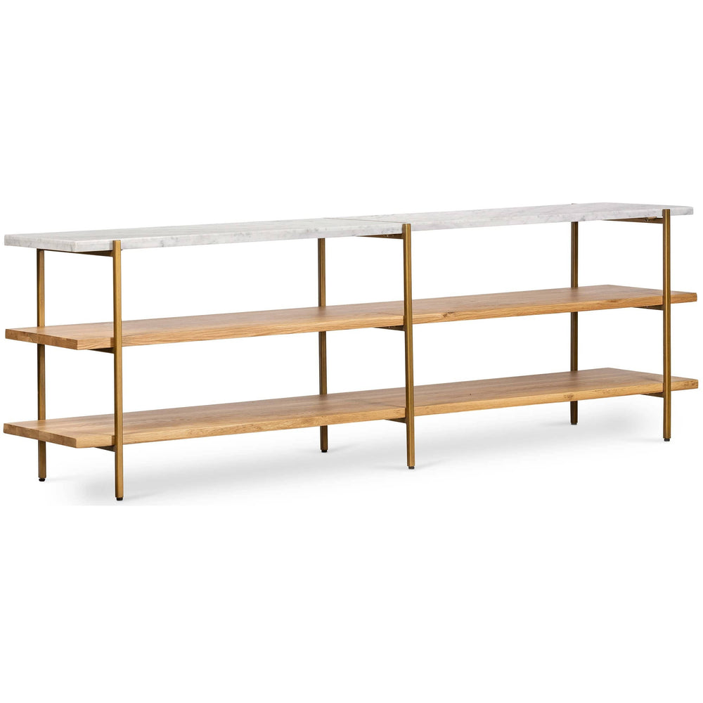 Olga Media Console - Furniture - Storage - High Fashion Home