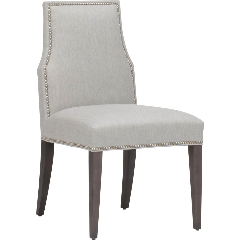 Oliver Side Chair, Tranquil Pebble - Furniture - Chairs - High Fashion Home