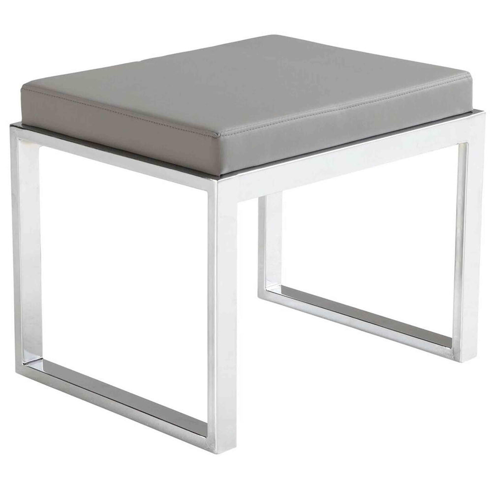 Oliver Stool, Grey - Furniture - Chairs - High Fashion Home