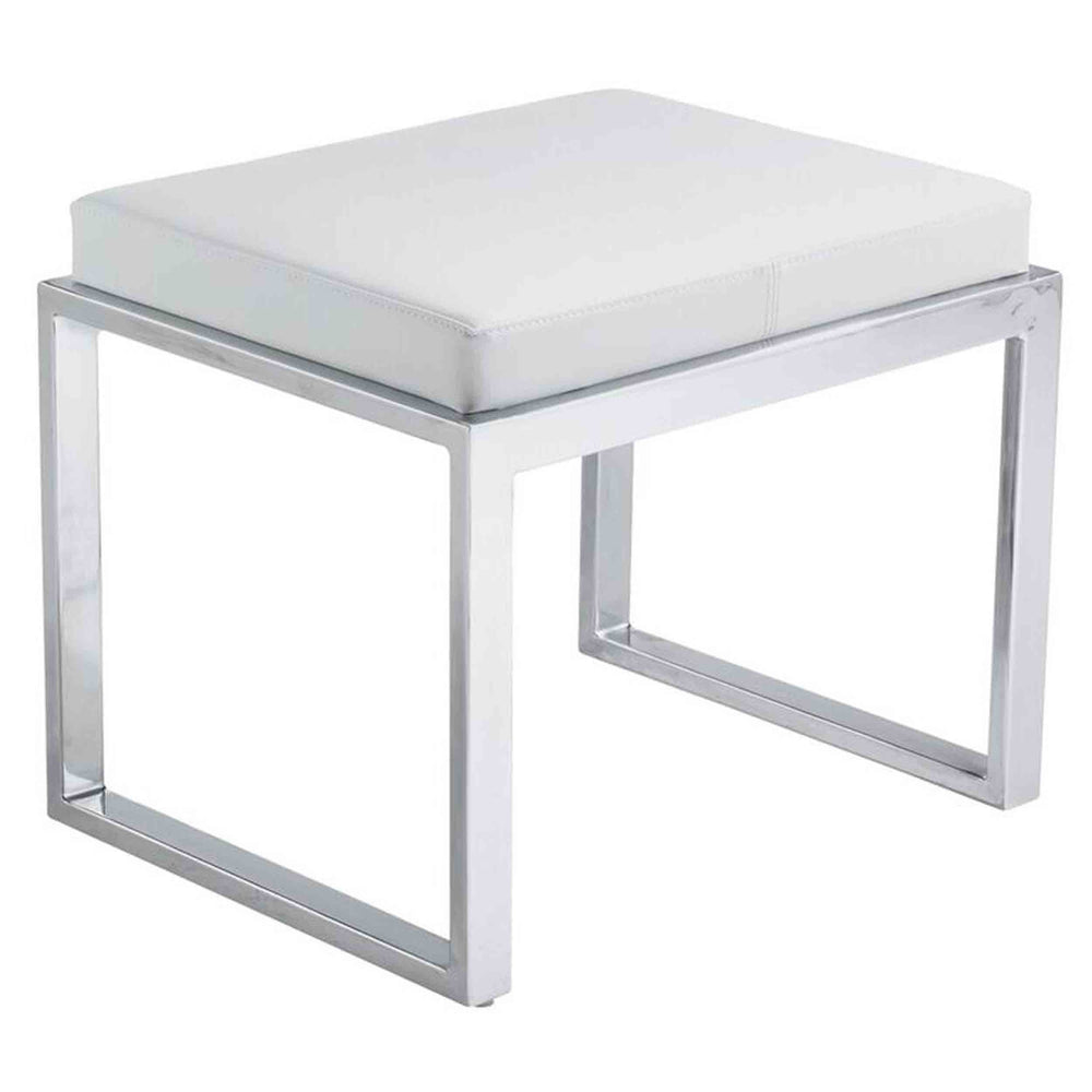 Oliver Stool, White - Furniture - Dining - High Fashion Home