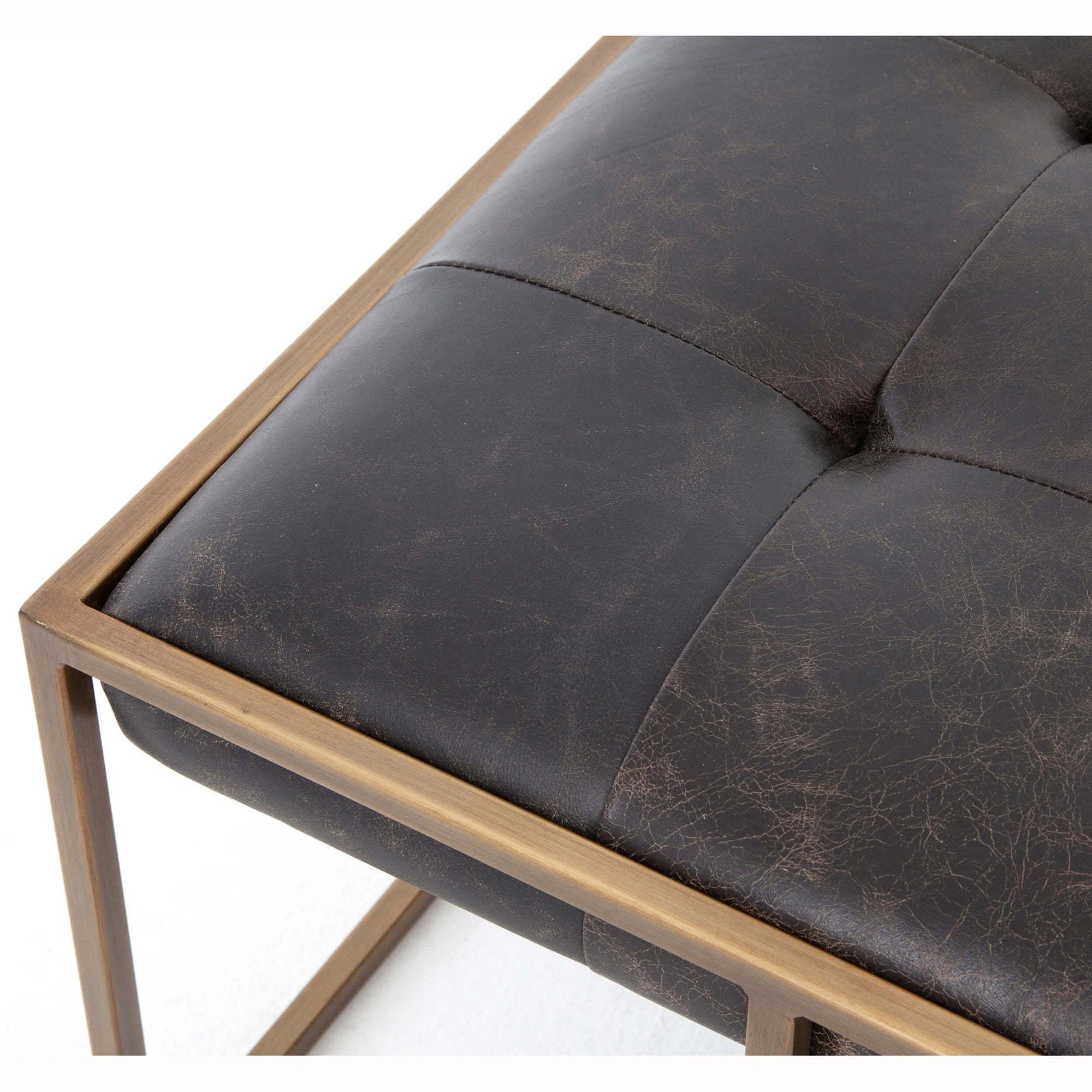 Awesome Oxford Square Cocktail Ottoman Rialto Ebony High Fashion Home Andrewgaddart Wooden Chair Designs For Living Room Andrewgaddartcom