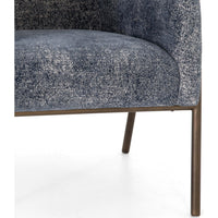 Pacey Chair, Camargue Navy - Modern Furniture - Accent Chairs - High Fashion Home