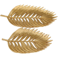 Palm Leaf, Gold