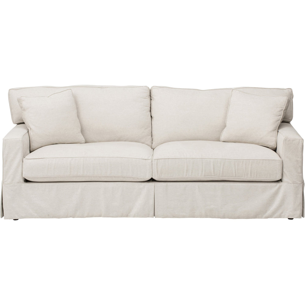 Parker Slipcover Sofa, Duet Natural - Furniture - Sofas - High Fashion Home
