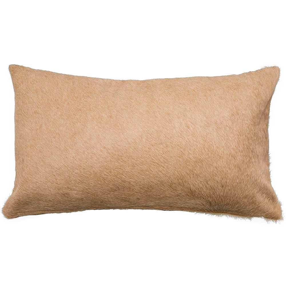 Beige Palmwood Hide, Lumbar - Accessories - Pillows