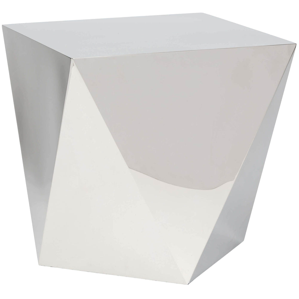 Penta Side Table, Silver - Furniture - Accent Tables - High Fashion Home
