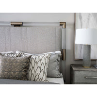Spiked Table Lamp, Gray - Lighting - High Fashion Home