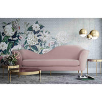 Plato Sofa, Blush - Furniture - Sofas - High Fashion Home