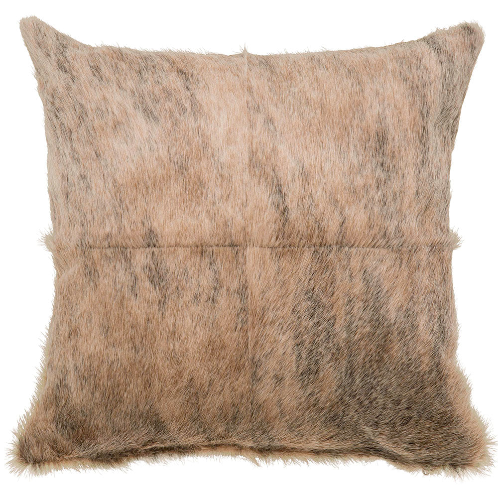 Birch Paneled Cowhide Pillow - Accessories - Pillows