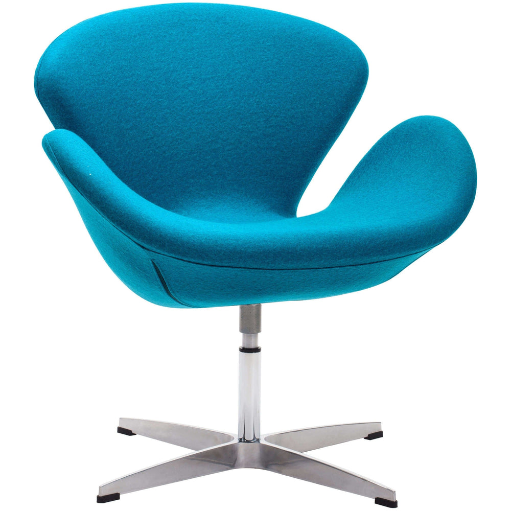 Pori Arm Chair, Island Blue - Email - Modern Office