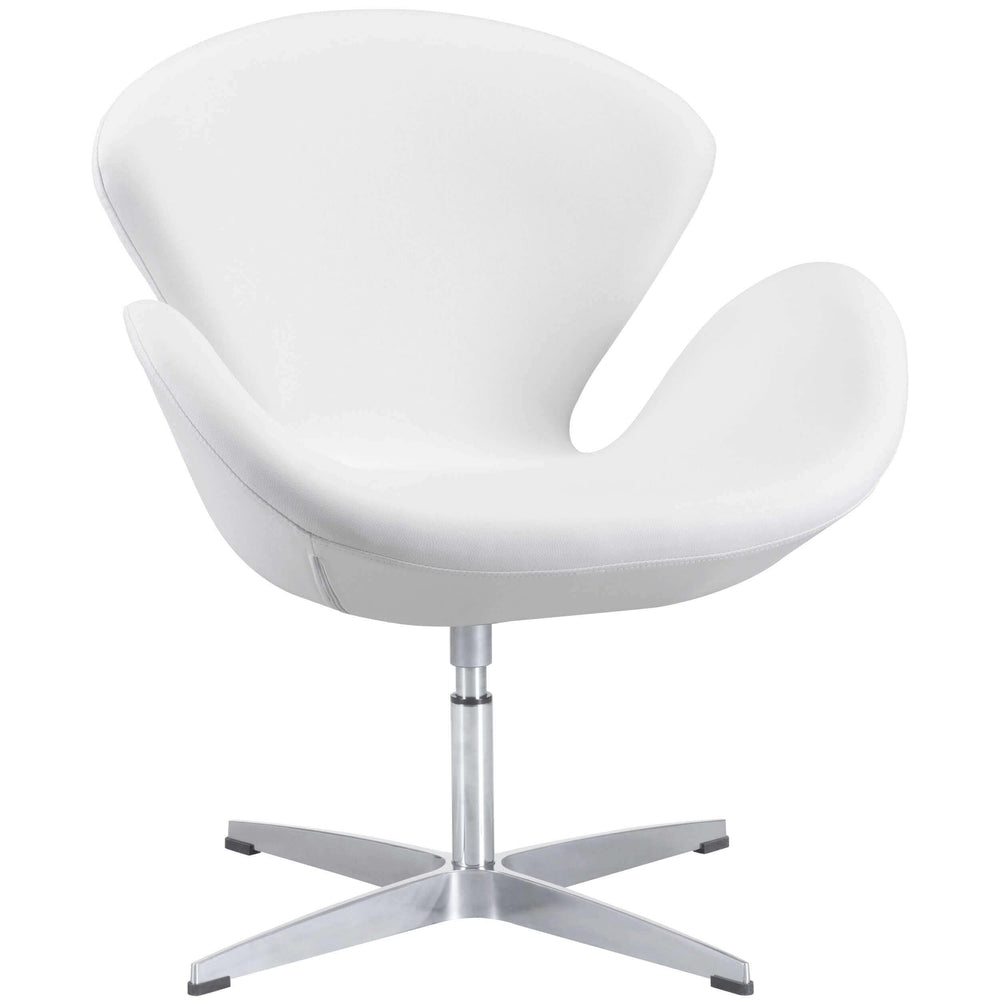Pori Arm Chair, White - Email - Modern Office