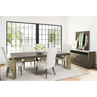 Profile Rectangular Dining Table - Modern Furniture - Dining Table - High Fashion Home