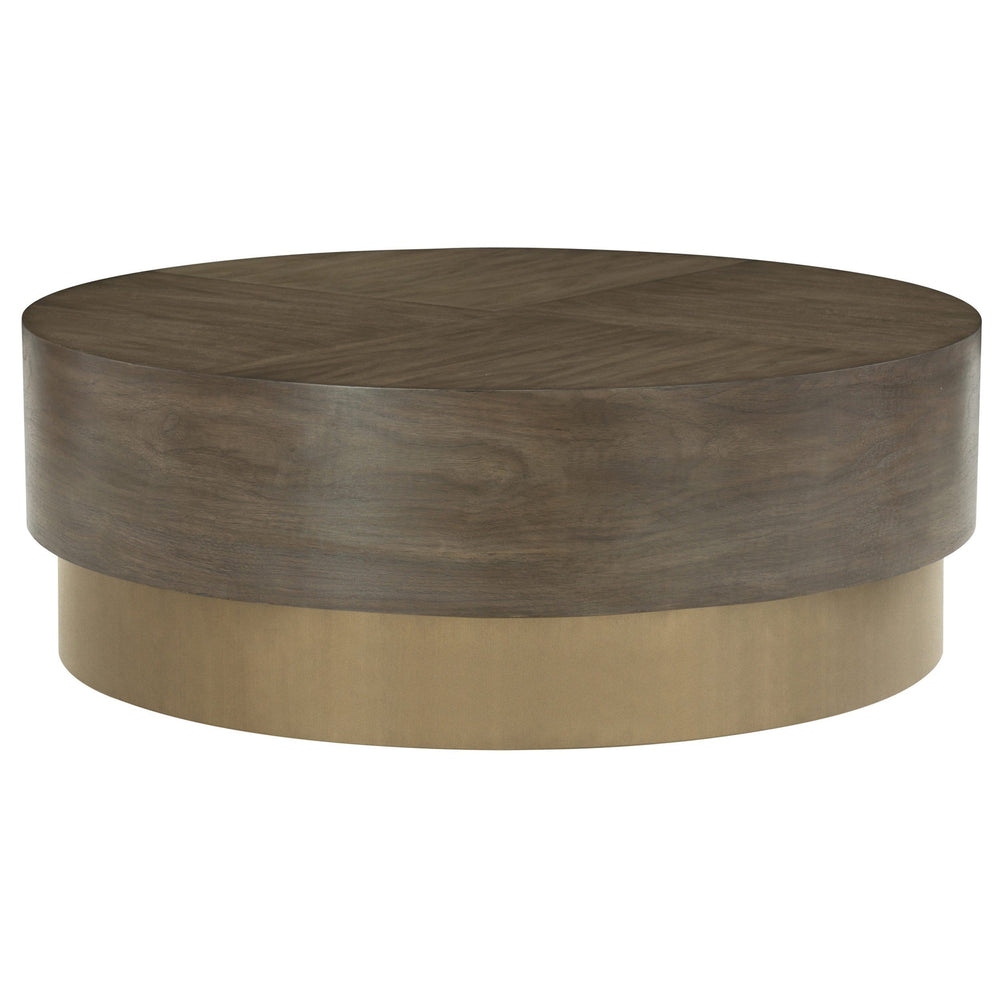 Profile Round Cocktail Table - Modern Furniture - Coffee Tables - High Fashion Home