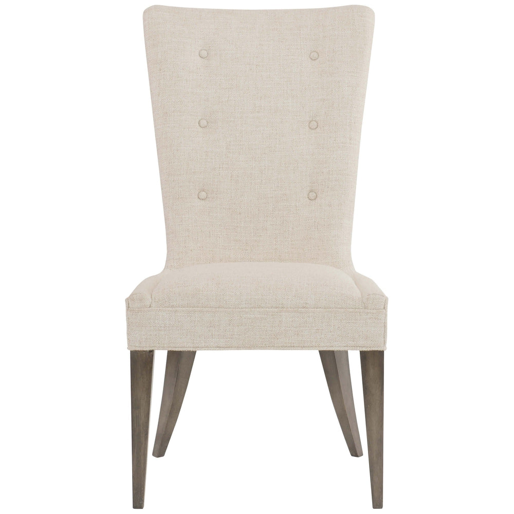 Profile Tufted Side Chair, Flax - Furniture - Chairs - High Fashion Home