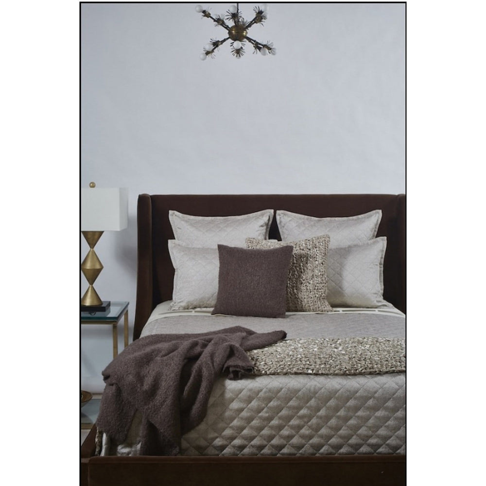 Raffia Coverlet Set, Taupe - Room Ideas - Bedroom - Dream in Green