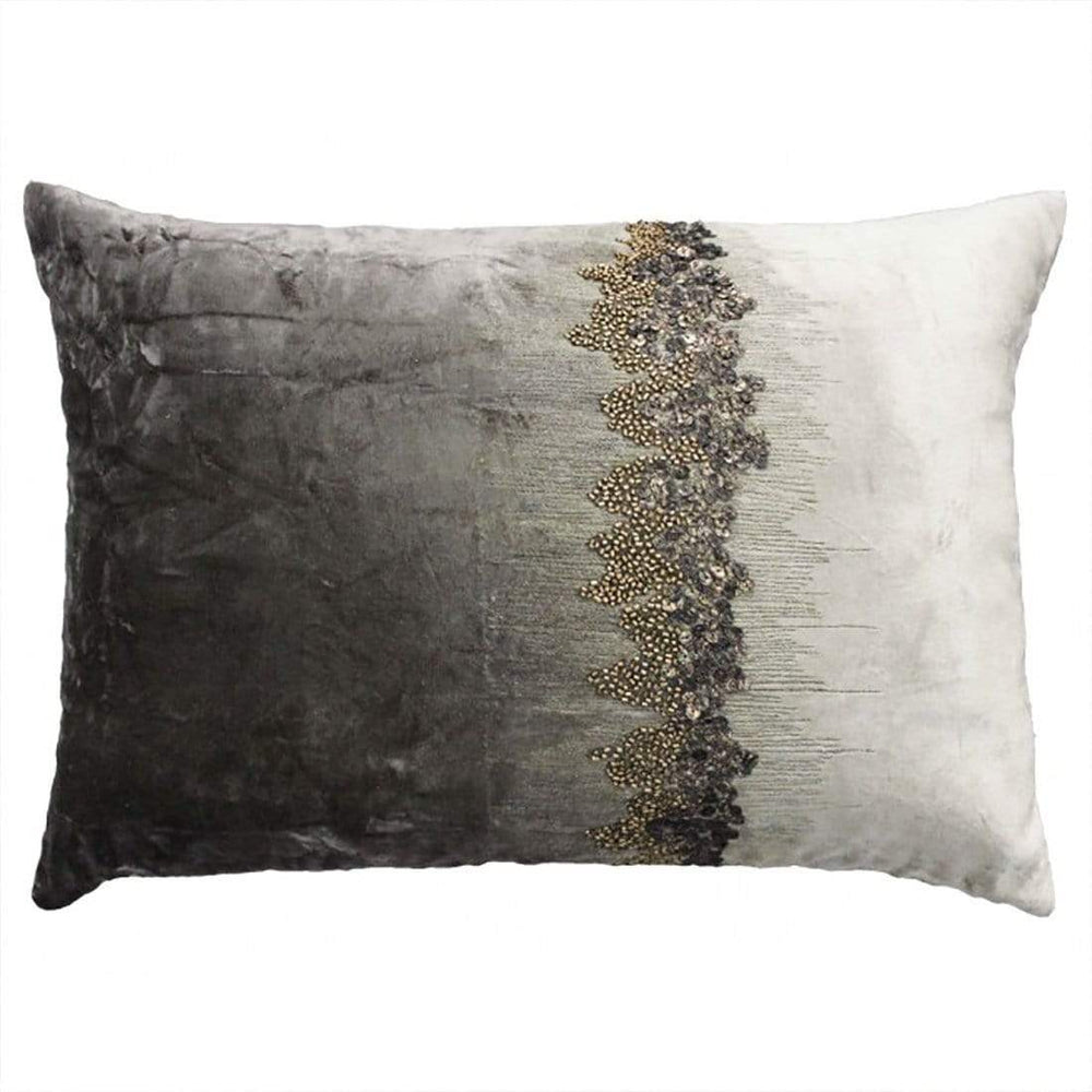 Cloud 9 Raina Stone and Charcoal Pillow - Accessories - High Fashion Home