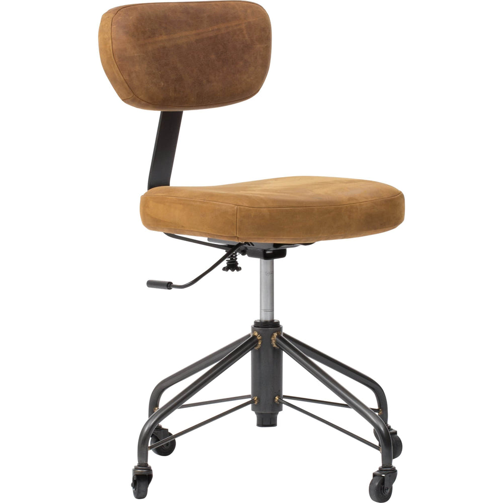 Randall Office Chair Umber - Furniture - Office - High Fashion Home