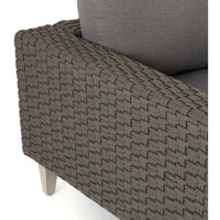 Remi Outdoor Sectional, Charcoal - Modern Furniture - Sectionals - High Fashion Home