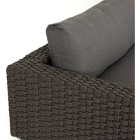 Remi Outdoor Sectional, Charcoal