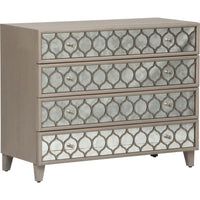Reverie Mirrored Bachelor's Chest - Furniture - Storage - High Fashion Home