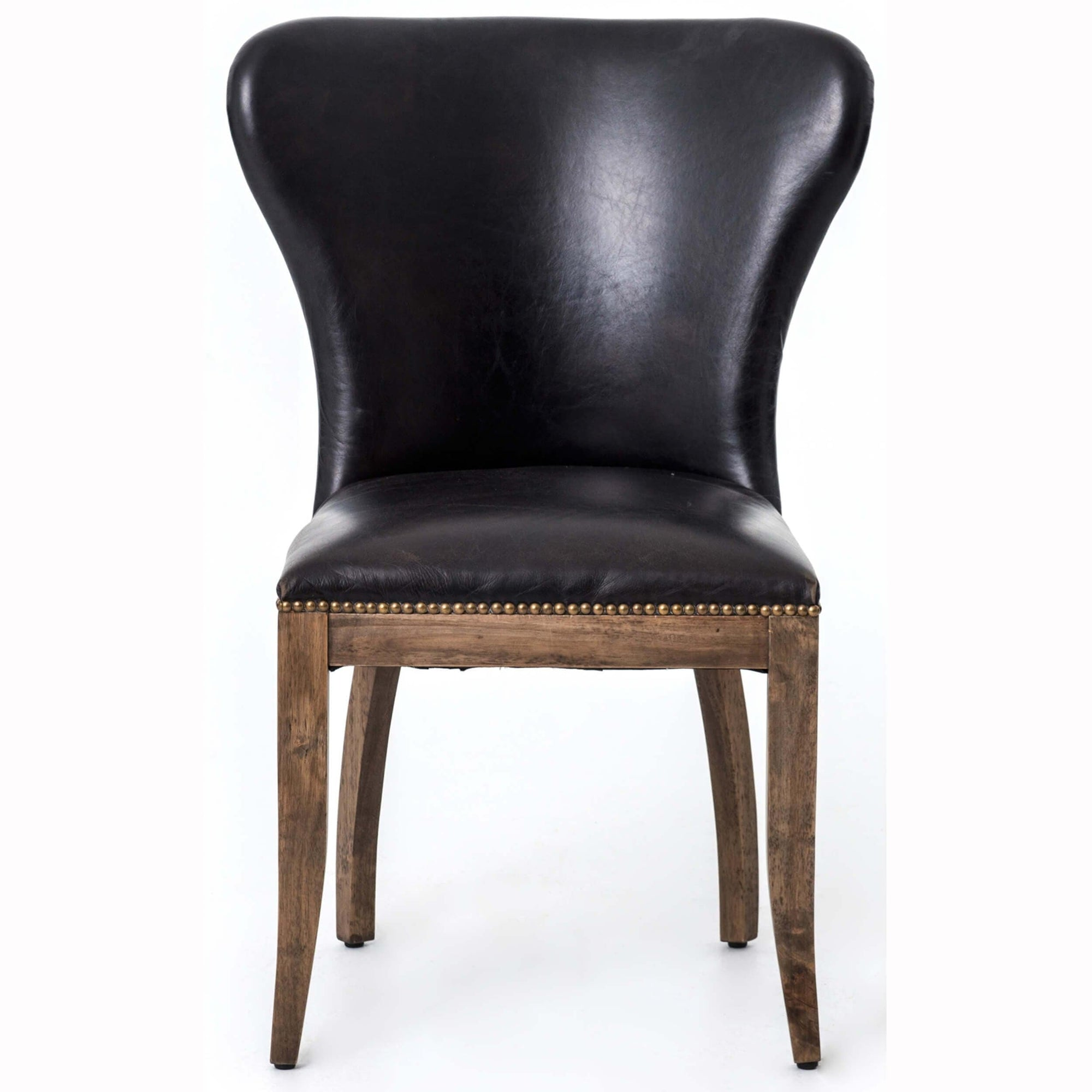 Brilliant Richmond Leather Dining Chair Old Saddle Black High Ibusinesslaw Wood Chair Design Ideas Ibusinesslaworg