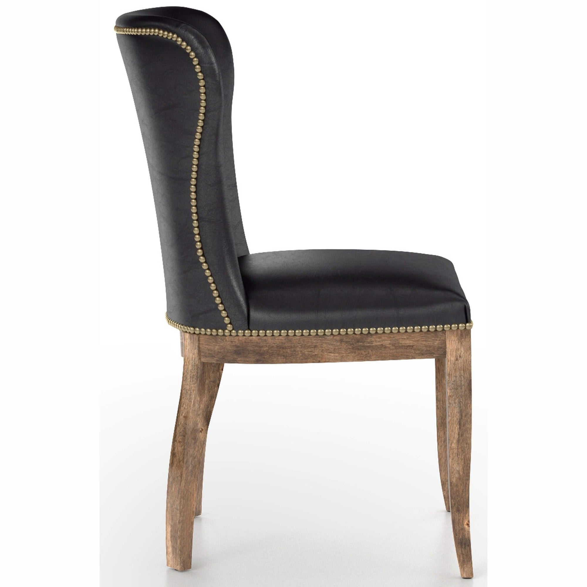 Astounding Richmond Leather Dining Chair Old Saddle Black High Ibusinesslaw Wood Chair Design Ideas Ibusinesslaworg