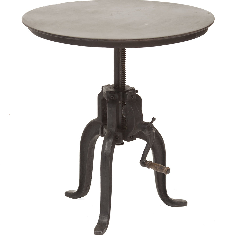 "Rockwell Crank Table 24"" - Furniture - Accent Tables - High Fashion Home"