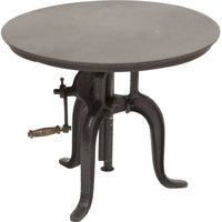 "Rockwell Crank Table 24"" - Furniture - Accent Tables - End Tables"