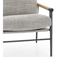 Rowen Chair, Thames Raven - Modern Furniture - Accent Chairs - High Fashion Home