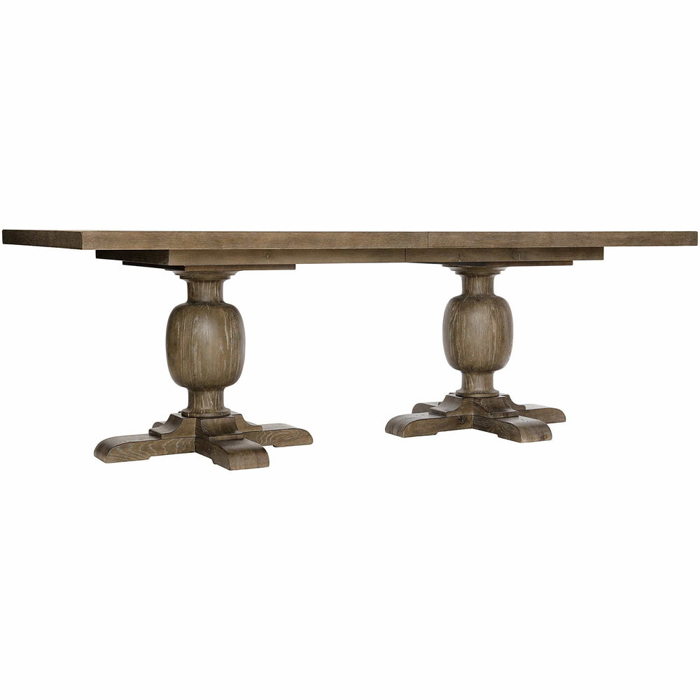 Rustic Patina Rectangular Dining Table, Peppercorn - Modern Furniture - Dining Table - High Fashion Home