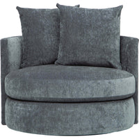 Sadie Swivel Chair, Virgo Pacific - Modern Furniture - Accent Chairs - High Fashion Home