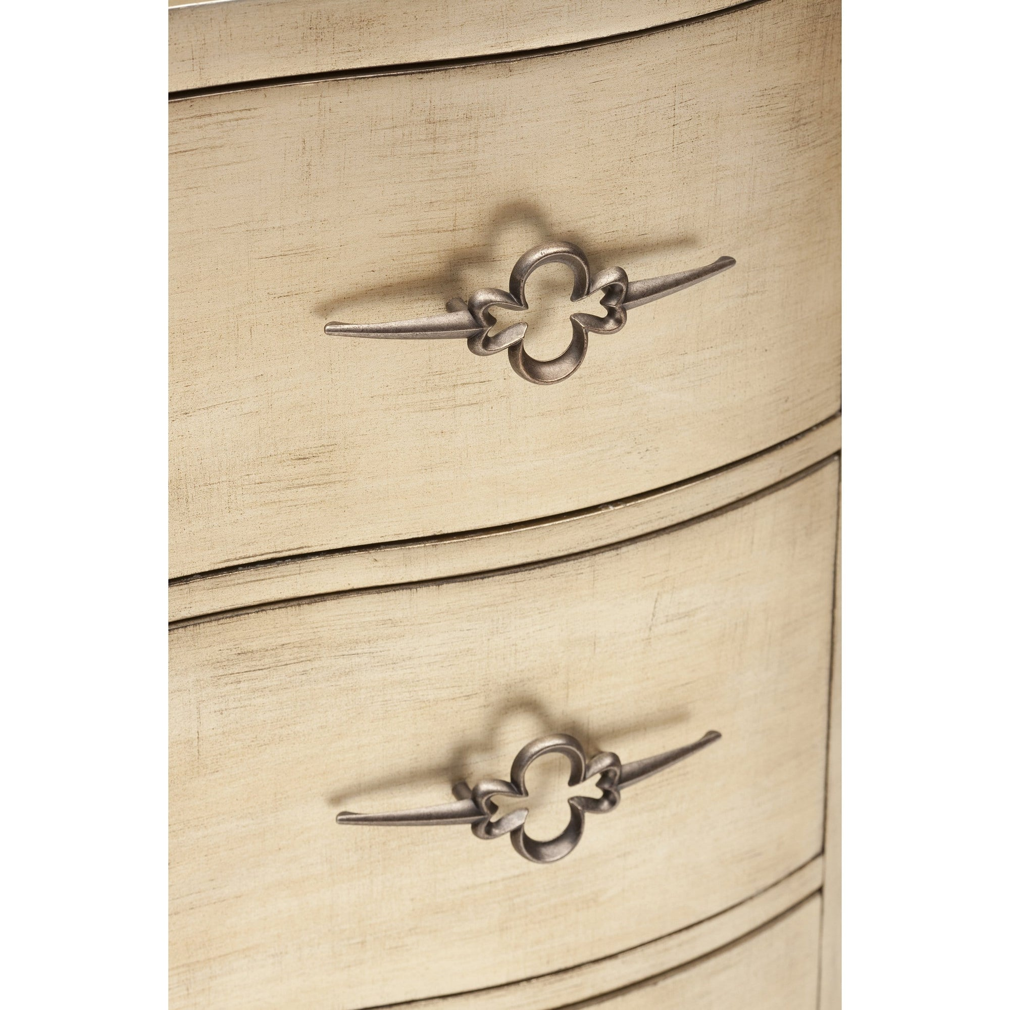 Sanctuary Three Drawer Shaped Front Chest High Fashion Home