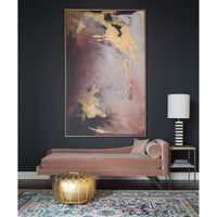 Prancing Plum Framed - Accessories Artwork - High Fashion Home
