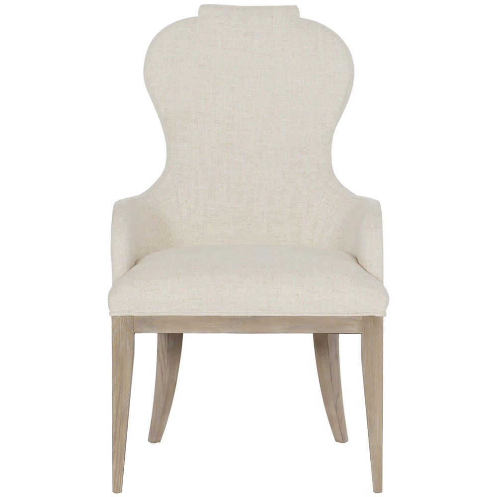 Santa Barbara Upholstered Arm Chair - Furniture - Dining - High Fashion Home
