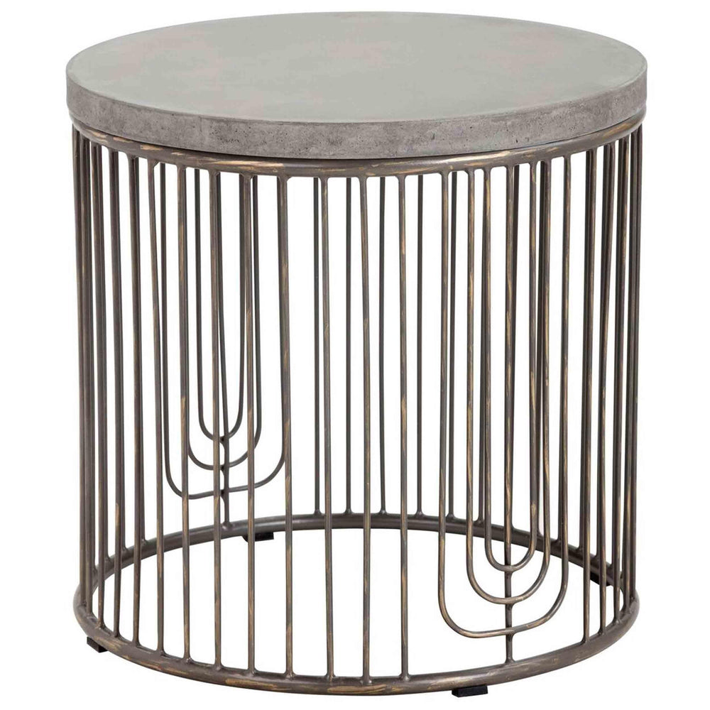 Sargon Side Table - Furniture - Accent Tables - High Fashion Home