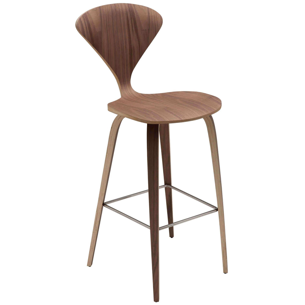 Satine Counter Stool, Walnut - Furniture - Dining - Dining Stools