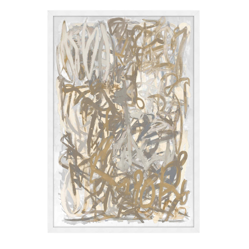 Scribbles Framed - Accessories Artwork - High Fashion Home