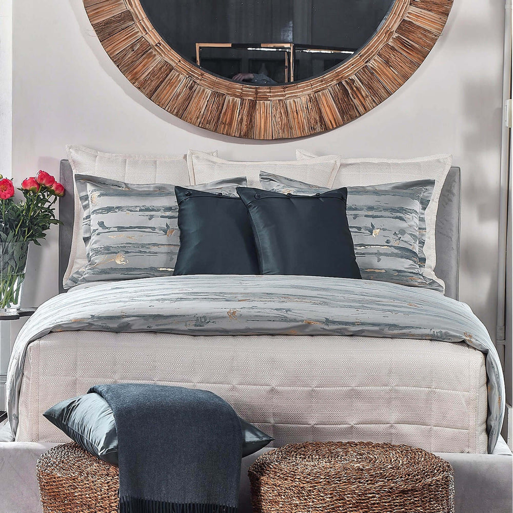 Serenity Duvet Set, Blue - Accessories - High Fashion Home