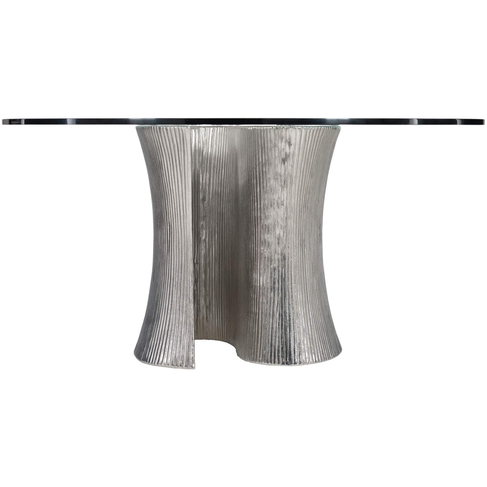 Serpentine Round Dining Table - Modern Furniture - Dining Table - High Fashion Home