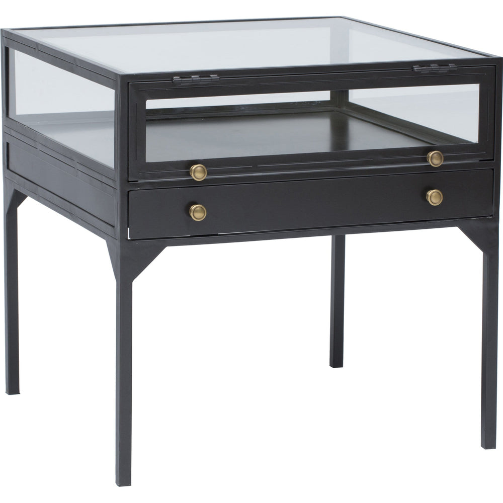 Shadow Box End Table - Furniture - Accent Tables - High Fashion Home