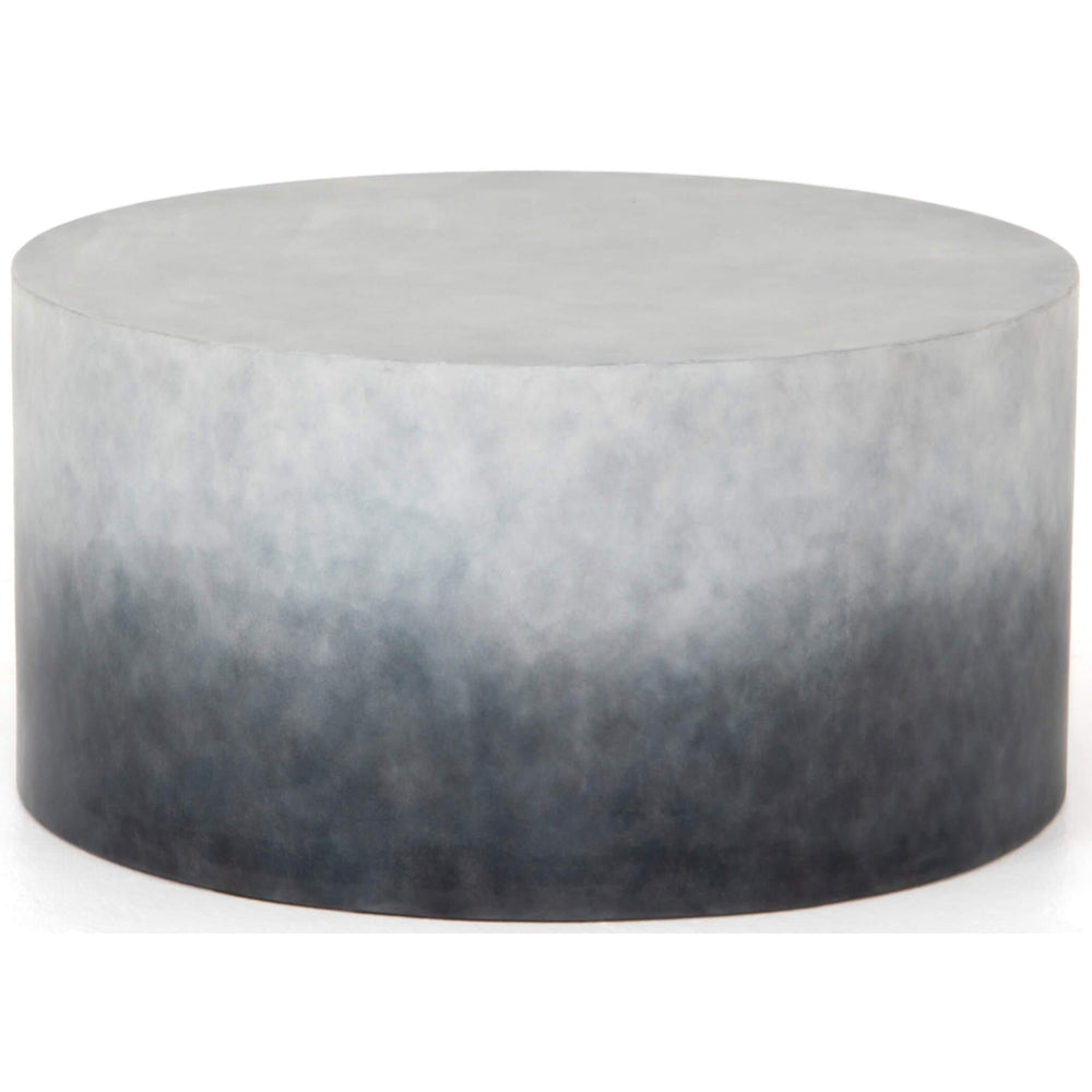 Sheridan Small Outdoor Coffee Table, Indigo Ombre