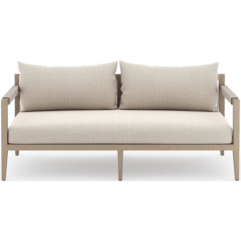 Sherwood Outdoor Sofa, Faye Sand/Washed Brown
