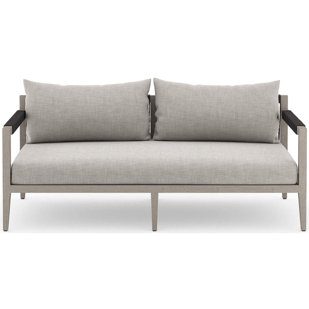 Sherwood Outdoor Sofa, Stone Grey/Weathered Grey - Furniture - Sofas - High Fashion Home