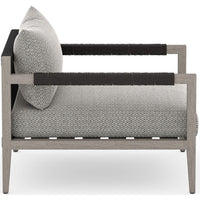 Sherwood Outdoor Chair, Faye Ash/Weathered Grey - Furniture - Chairs - High Fashion Home