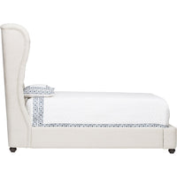 Simone Bed, Duet Natural - Modern Furniture - Beds - High Fashion Home