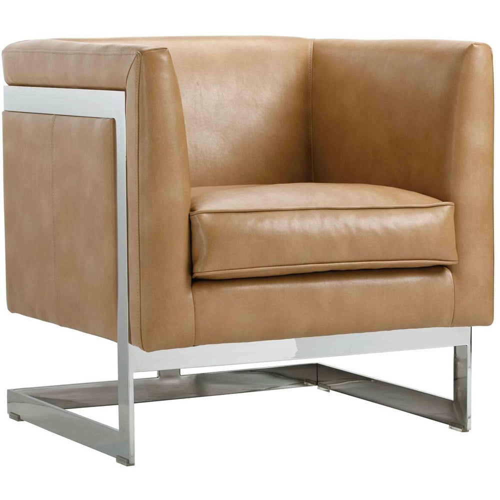 Soho Chair, Peanut Leather - Furniture - Sunpan