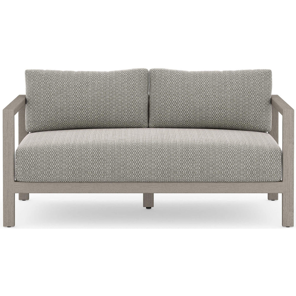 Sonoma Outdoor Sofa, Faye Ash/Weathered Grey