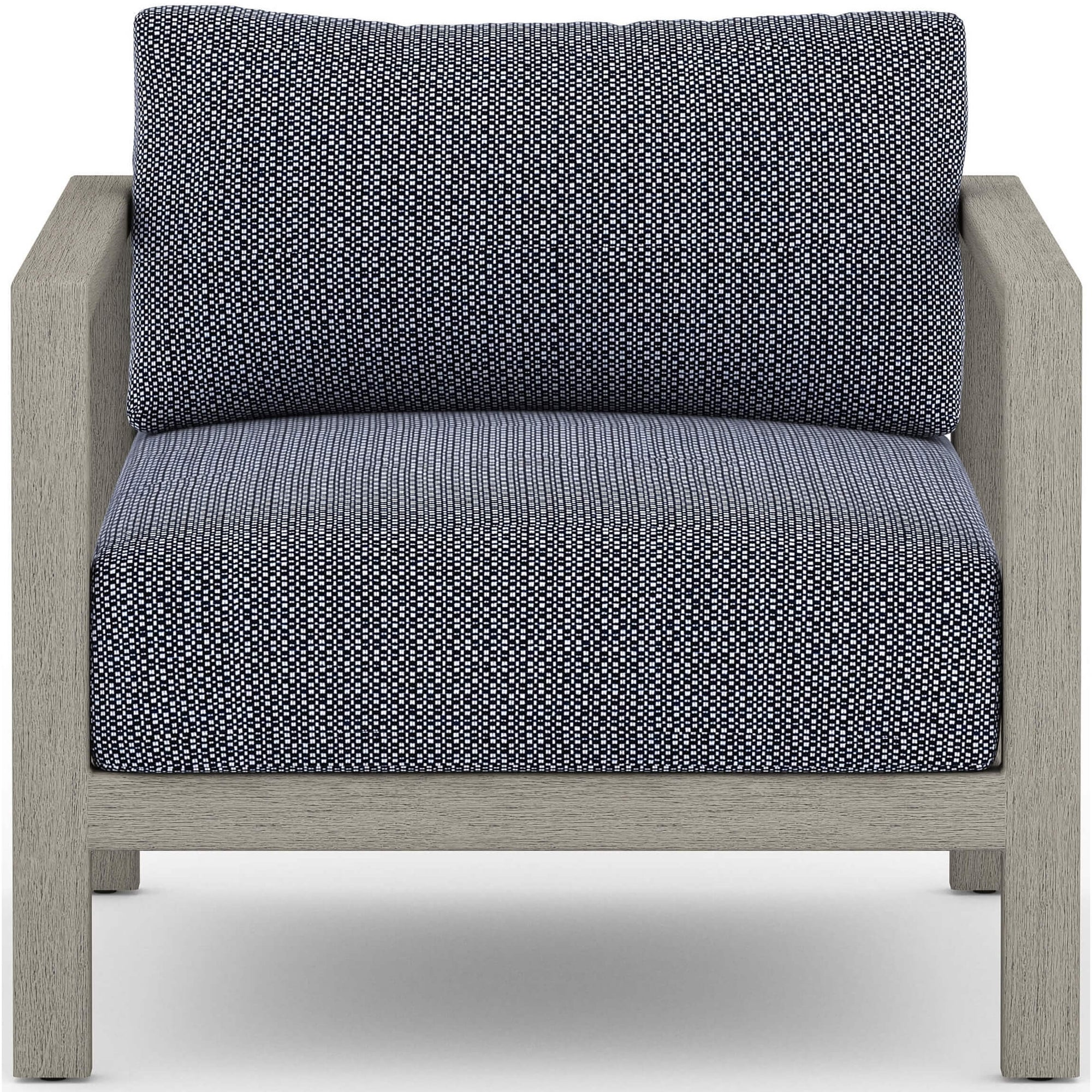 Pleasant Sonoma Outdoor Chair Faye Navy Weathered Grey Gmtry Best Dining Table And Chair Ideas Images Gmtryco