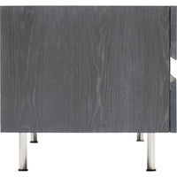 Sorrento Entertainment Console, Grey Oak - Furniture - Storage - High Fashion Home