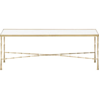 Spike Coffee Table, Brass - Furniture - Accent Tables - Coffee Tables
